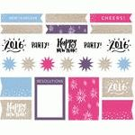 Silhouette America Blog | New Year's Planner Stickers