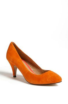 Topshop 'Maple' Mid Heel Court Pump available at #Nordstrom