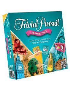 Trivial pursuit, mielellään ihan tavallinen versio mut käy tuo perheversiokin.