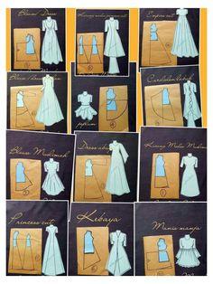 Fashion Sewing, Diy Fashion, Ideias Fashion, Moda Fashion, Petite Fashion, Fashion Tips, Dress Sewing Patterns, Clothing Patterns, Skirt Patterns