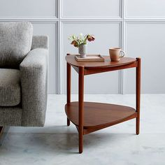 Retro Tripod Side Table | west elm