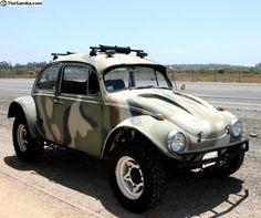 VW Beetle camo baja