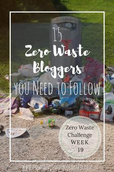 15 Zero Waste Bloggers You Need to Follow & Zero Waste Challenge Update | The Mindful Mom Blographer