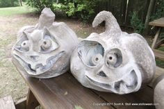 Neat paper mache DIY for halloween props and decorations