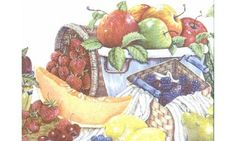 Fruits b3042cy Wallpaper Border