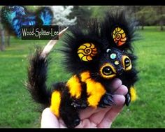 --SOLD--Poseable Baby Bumble Dragon! by *Wood-Splitter-Lee on deviantART
