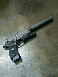 Sig Sauer 226 Legion TACOPS with Surefire X300 and surpressor