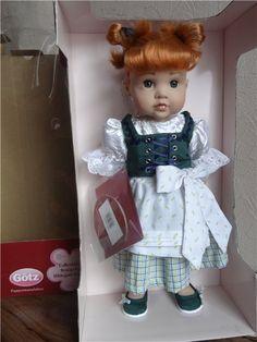 ~Gotz~ Limited Collection 67/300 2007 год ~Bavarian Doll by Hildegard Gunzel~ / Коллекционные куклы (винил) / Шопик. Продать купить куклу / Бэйбики. Куклы фото. Одежда для кукол