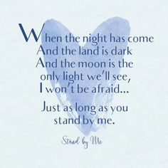 Stand by Me, Ben E. King