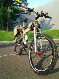 Montague Paratrooper Bicycle