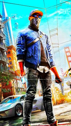 Watch Dogs 2 4k Gaming Wallpaper, Hacker Wallpaper, Dog Wallpaper, Gaming Wallpapers, Game Character, Character Design, San Andreas Gta, Watch Dogs 1, 480x800 Wallpaper