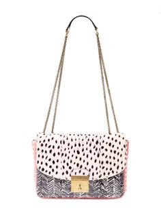 Mini Polly Snakeskin Flap Bag by Marc Jacobs Collection at Gilt