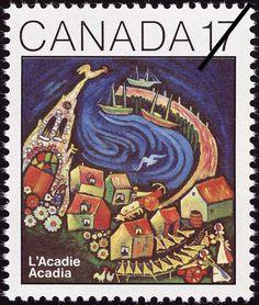 MIKAN 2218708 L'Acadie = Acadia [philatelic record]. 1981 [74 KB, 407 X 480]