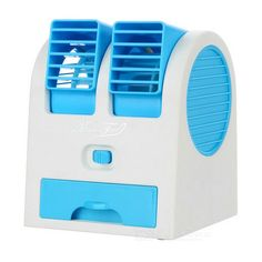 Portable USB / AAA Battery Powered Sillent Fan for Office, Home, Dormitory