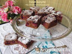 Kakaós-fahéjas szedres sütemény French Toast, Muffin, Breakfast, Recipes, Food, Morning Coffee, Rezepte, Muffins, Food Recipes