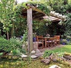 zahrada posezení - Hledat Googlem