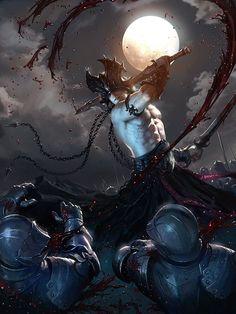 Dark Fantasy Art, Fantasy Artwork, Dark Art, Dark Power, Hobgoblin, Conan The Barbarian, Sword And Sorcery, Fantasy Warrior, Fantasy Characters