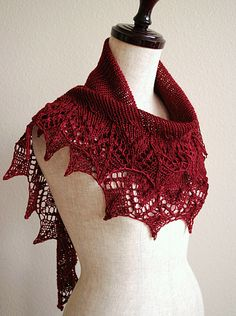 Scarves....shawls....they are great to knit...and love to make 'em!
