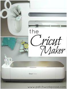 Introducing the Cricut Maker - so fun!  can't wait to try a few new projects with mine. So much to learn.