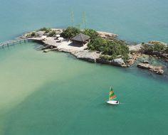 Air View - Ponta dos Ganchos Resort / Brazil
