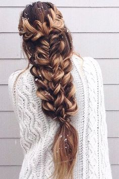 20 Gorgeous Braided Hairstyles For Long Hair - Page 8 of 9 - Trend To Wear