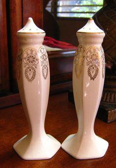 Windsor China Inc. Salt & Pepper Shakers.