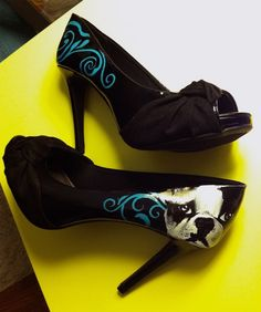 Custom painted shoes :-)