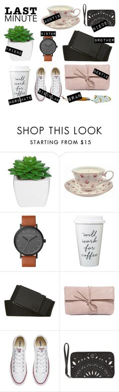"""Last minute gift ideas"" by goingdigi on Polyvore featuring The Horse, Billabong, LULUS, Converse and Orla Kiely"