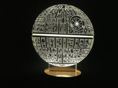 Star Wars Death Star Bulbing Lamp Table Lamp Micro USB Light for Star Wars Force Awakens Fans