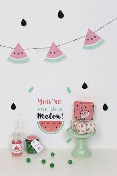 Watermelon party, una fiesta infantil