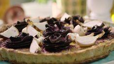 Quiche met wortelen en geitenkaas van Sandra Bekkari | VTM Koken Go For It, Summer Squash, Quiches, Healthy Recipes, Healthy Food, Cheesecake, Desserts, Weight, Foodies