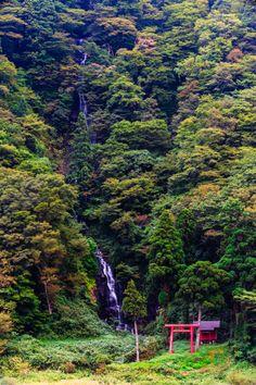 Shiraito Falls, Tozawa,Yamagata, Japan