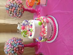 Zoie's Candy Theme Birthday