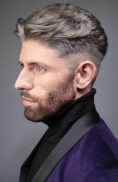 Men short hair look