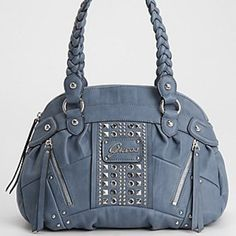 I have this Guess handbag in black and love it..
