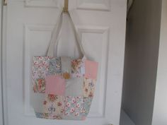 Large Patchwork Floral Tote Bag, Fashions :: Purses/Totes :: OUR-WV.com