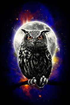 'The Watcher' #owl #Art #Print