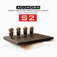 Mono and Stereo High-End Audio Magazine: Acuhorn amplifiers 6C33C tube output transformerless NEW