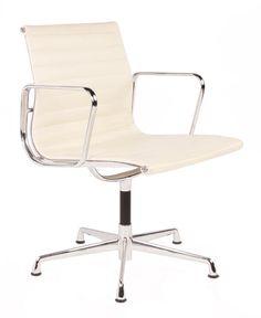 The Matt Blatt Replica Eames Group Aluminium Chair #CF-035F Fixed - Premium by Charles and Ray Eames - Matt Blatt
