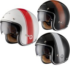 Black Stripe Limited Edition Motorcycle Helmet