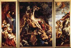 the elevation of the cross peter paul rubens - Google Search