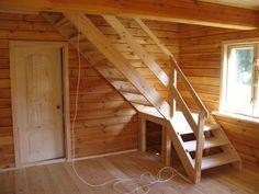 Лестницы деревянные. Продажа комплектов для устройства лестниц.