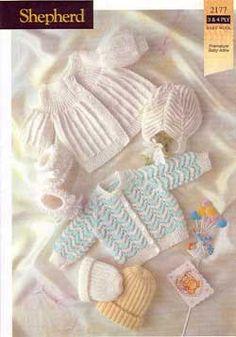 Newborn Knitting Patterns baby knitting patterns page 6 of 22 knit world knitting patterns for . Knitting For Charity, Knitting For Kids, Free Knitting, Knitting Projects, Baby Clothes Patterns, Baby Knitting Patterns, Baby Patterns, Layette, Baby Knitting