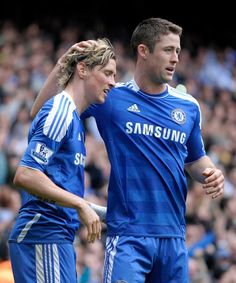 Torres & Cahill <3 Chelsea FC <3 Love Torres!