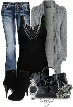 View our simplistic, relaxed & effortlessly lovely Casual Fall Outfit inspiring ideas. Get motivated with your weekend-readycasual looks by pinning one of your favorite looks. casual fall outfits with jeans Look Fashion, Fashion Outfits, Womens Fashion, Ladies Fashion, Fashion Ideas, Fashion Styles, Fall Fashion, Fashion Trends, Trendy Fashion