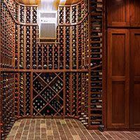 Residential wine rooms are increasing in popularity as a viable wine storage solution. Browse our residential wine rooms we've designed for inspiration. Wine Cellar Racks, Wine Rack, Wine Rooms, Wine Storage, Room Ideas, Diy, Inspiration, Design, Home Decor