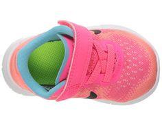 ae6f73f135401 Nike Kids Revolution 3 Print (Infant Toddler) Boys Shoes Still  Blue White Chlorine Blue