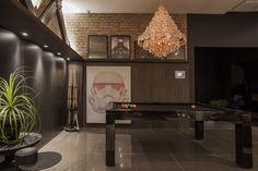 Um living de 40 m² para fã da saga Star Wars - Casacor