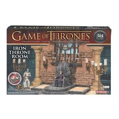 Game of Thrones Consturction Set Iron Throne Room  Discount Price 29.99  Free Shipping  Buy it Now