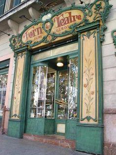 ca. 1900. Forn des Teatre (Theatre Bakery). Palma de Mallorca.